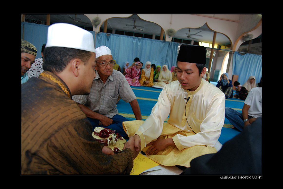Majlis Akad Nikah Mohd Sani & Fazlizah